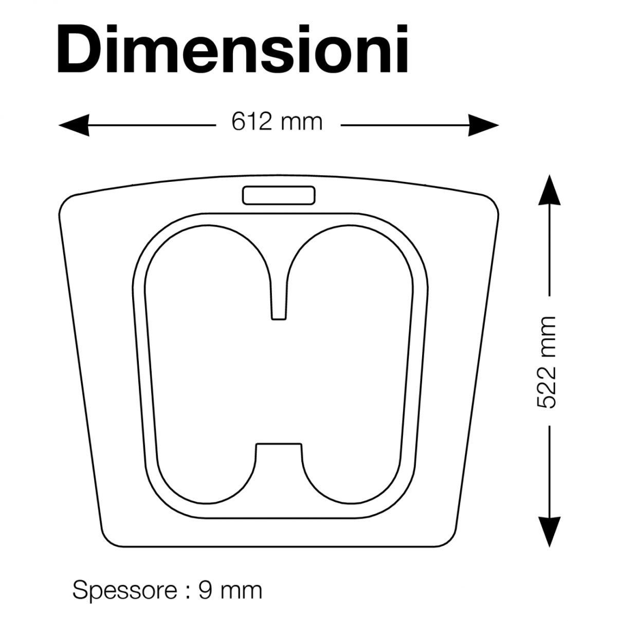 Dimensioni tappeto VioMat